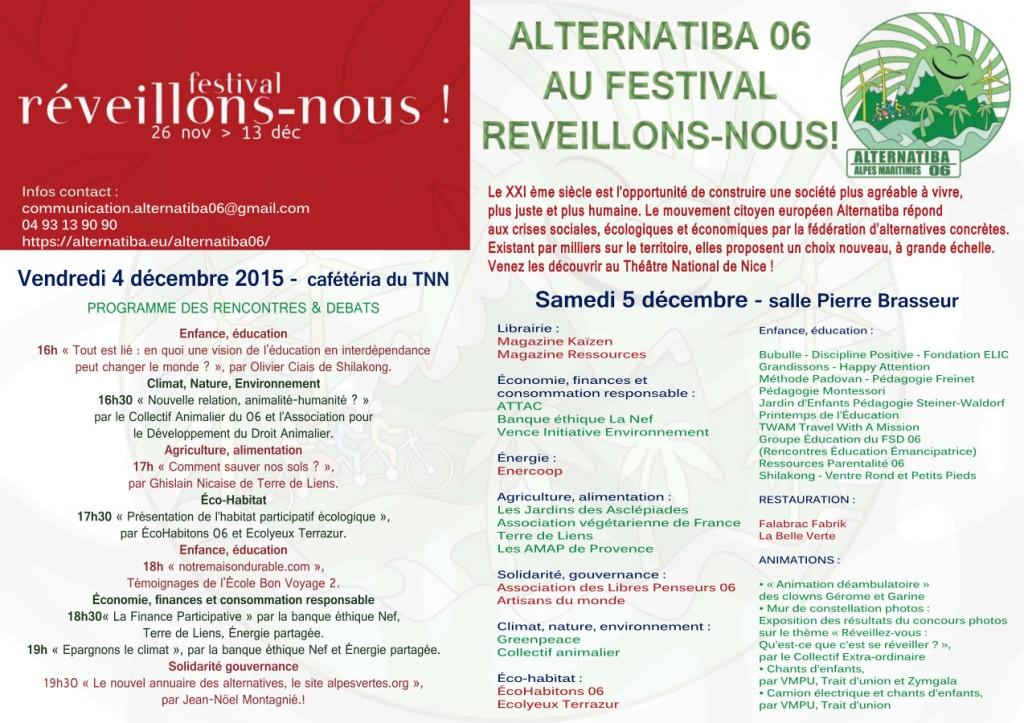 Alternatiba 06 au Festival Reveillons-nous ! - 1